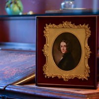 Lost portrait of Charles Dickens goes on display in author's family home