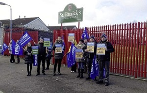 St Patrick's PS stays open during strike 'thanks to goodwill of staff'