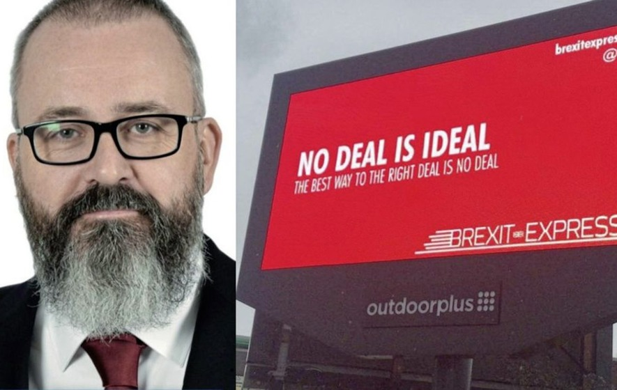 No-deal Brexit pressure group paid DUP's Lee Reynolds for consultancy work