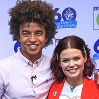 Blue Peter rescue dog Henry makes debut on show