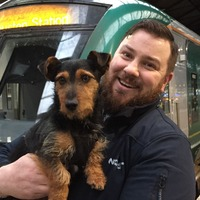 Train-loving terrier Tyson to be reunited with owners after canine commute