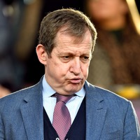 'Oh Flower Of Flextension': Alastair Campbell plays bagpipes as Brexit 'relief'