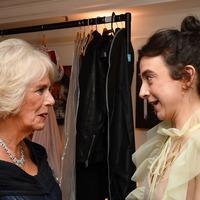 Duchess of Cornwall congratulates Olivier Award winners