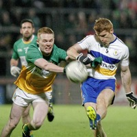 Errigal Ciaran flying with Canavans and Tyrone stars