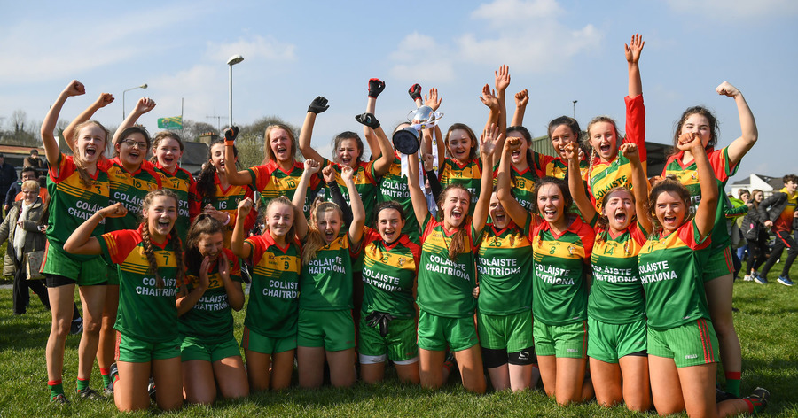 St Catherine's, Armagh Celebrate First All-Ireland Triumph