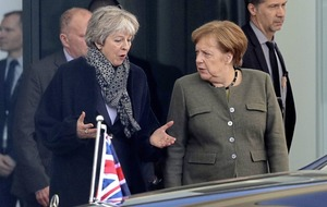 Commons leader lobbies Merkel to reconsider position on backstop