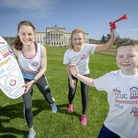 Video: Runners to race downhill at Stormont for Children's Cancer Unit Charity