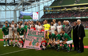 Tens of thousands attend fundraising match for Sean Cox