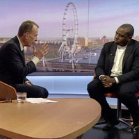 Labour MP David Lammy defends comparing Tory Brexiteers to Nazis