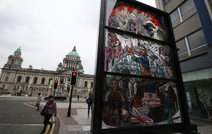 Stained glass window unveiled in Belfast for Game of Thrones final season