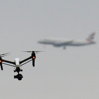 Aircraft seats manufacturer uses drones to keep production line running