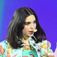 Singer Dua Lipa meets young refugees in Lebanon