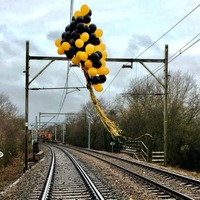 Helium balloons cause hundreds of train delays every year