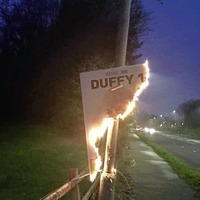 Sinn Féin candidate says burning of election posters 'despicable'