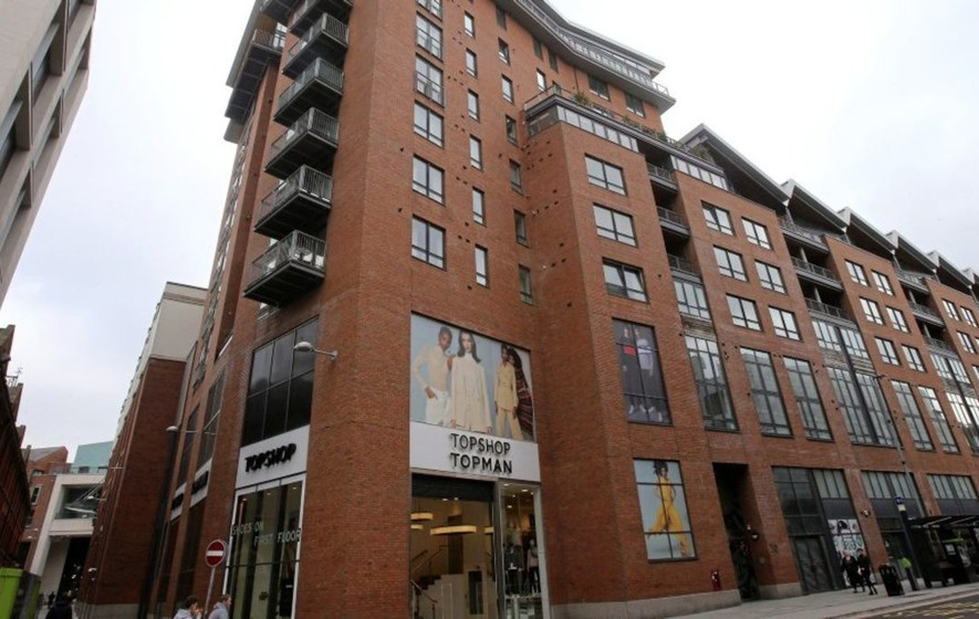 ed1431a9545e7 Residents of apartments at the Victoria Square complex in Belfast were told  to vacate the building