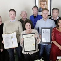 US trade unionists meet family of late Martin McGuinness