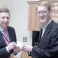 Belleek Pottery makes it to Leinster House top table