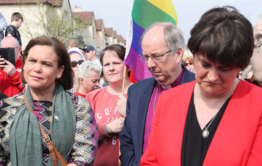 Lyra McKee's murder unites city in condemnation