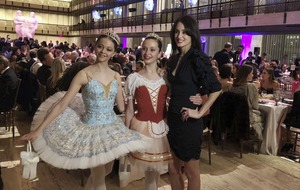 Moves like Jagger: Rocker makes appearance as partner presents her first ballet