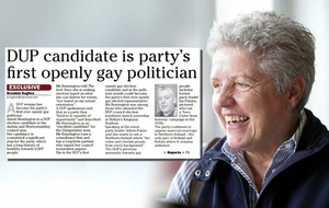 Mixed response to DUP running first openly gay election candidate