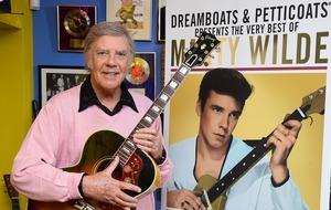 Marty Wilde 'thrilled to bits' to score first top 10 with greatest hits album