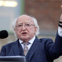 Michael D Higgins opens west Belfas's James Connolly Visitor Centre