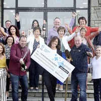 Co Down syndicate celebrate winning lottery ticket