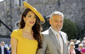 Clooneys meet Irish relatives during Easter break in Co Laois