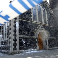 Man arrested over paint-bomb attack on Ballyclare Catholic church