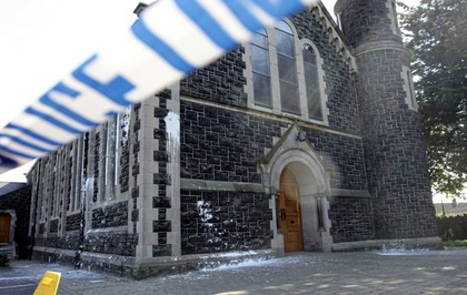Paint attack on Ballyclare Catholic church