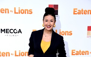 Hayley Tamaddon pregnant with first child at 42