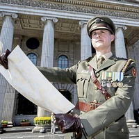 Michael D Higgins leads ceremony to mark Easter Rising anniversary