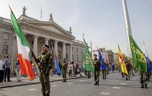 'Disturbing' Dublin parade by New IRA-linked group condemned