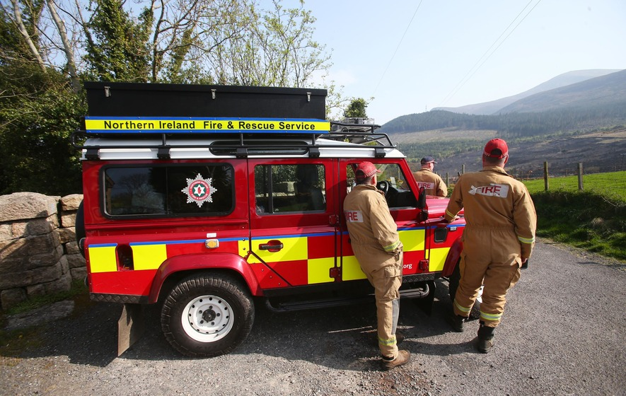 Tollymore Forest fire 'started deliberately' says PSNI