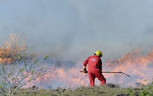 Major Co Donegal gorse fire under control