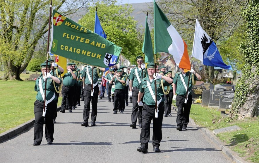 Saoradh say they will not 'go away' despite pressure to disband