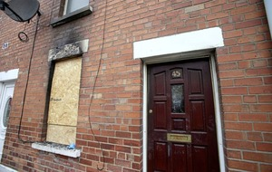 East Belfast house blaze 'reckless and deliberate' says fire officer