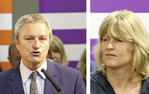Rachel Johnson and Gavin Esler unveiled as European election candidates for Change UK