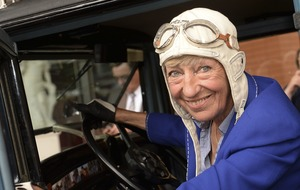 German businesswoman who toured world in vintage car dies aged 81