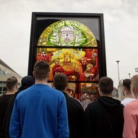 Second Game of Thrones window unveiled in Belfast