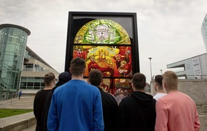 Second Game of Thrones window unveiled in Belfast