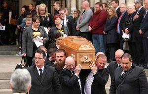 Lyra McKee funeral: 'Why in God's name does it take the death of a 29-year-old woman to get us to this point?'