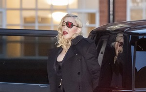 Madonna wears risque bodysuit to MTV event in London