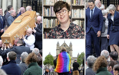 Haunting words of murdered journalist Lyra McKee fill every corner of St Anne's Cathedral at her poignant funeral
