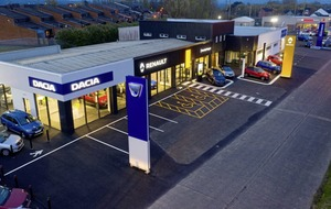 Ballymena car showroom re-opens after £500k revamp