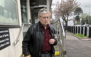 This is the Co Down octogenarian alleged to have subjected his cancer-suffering 84-year-old partner to savage, two-hour beating