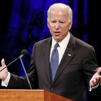 Former US vice president Biden formally joins the Democratic presidential contest