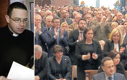 West Belfast priest Martin Magill describes 'overwhelming' response to Lyra McKee funeral appeal