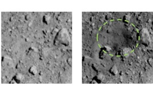 Japan reveals artificial crater blasted into asteroid by spacecraft