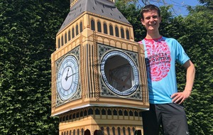 Big Ben runner hopes to make good time in London Marathon record attempt
